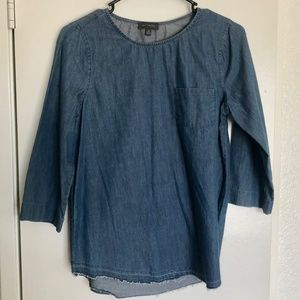 The Limited Denim Blouse